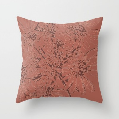 botanic 1 throw pillow