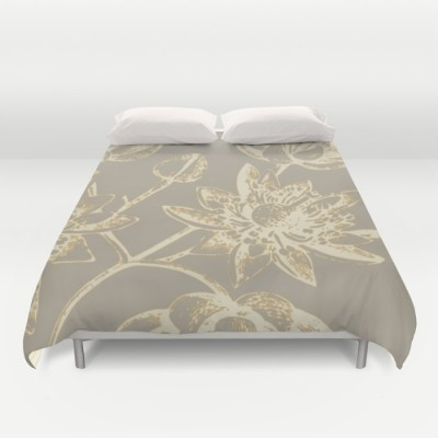 botanic two duvet cover