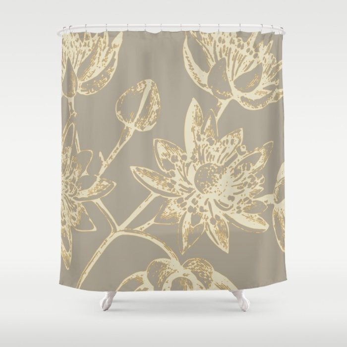 botanic two shower curtain