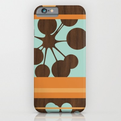 retro bubble phone case