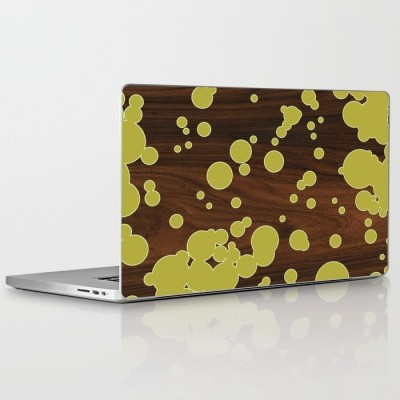 green fizzy laptop and ipad skin