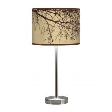 branch hudson table lamp cream