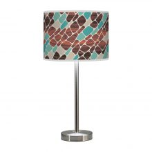 cell hudson table lamp green
