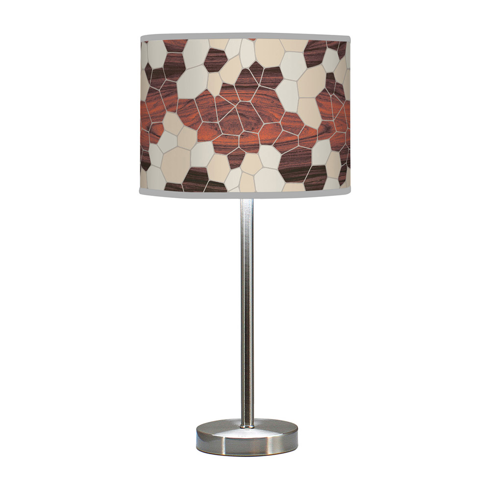 geode pattern printed shade hudson table lamp