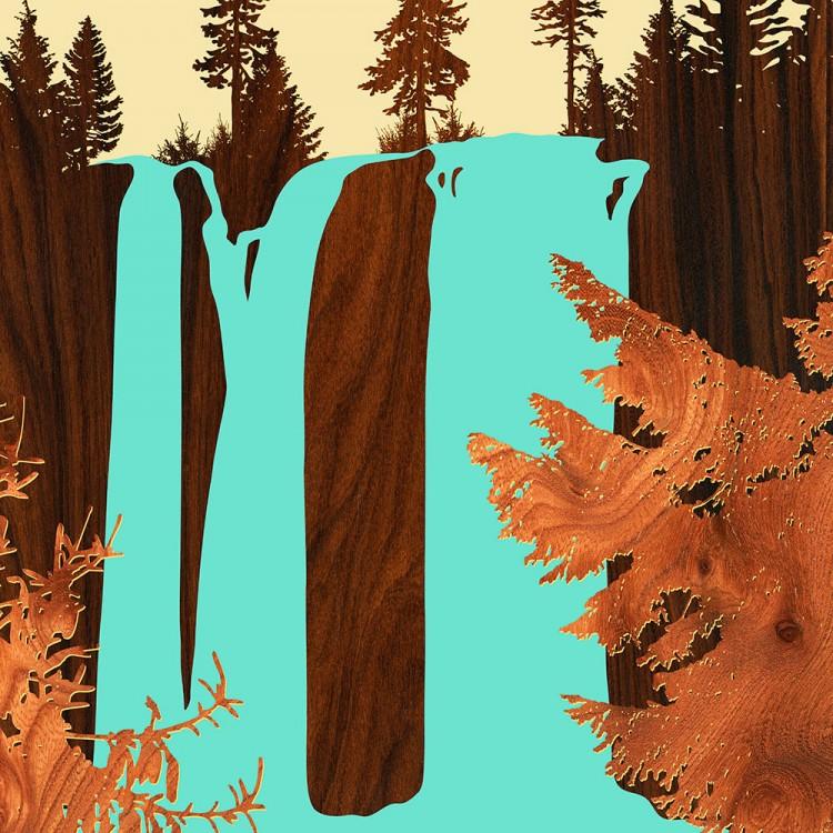 Koosah Falls Oregon Print