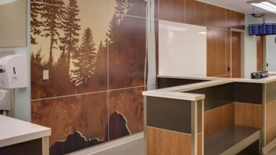 jefdesigns wall graphics at kaiser, hillsboro