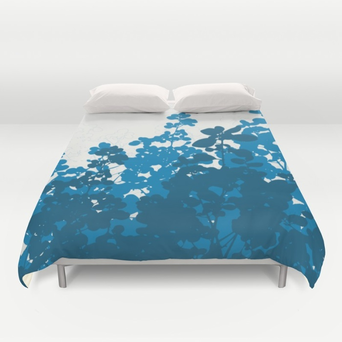 meadow design duvet cover
