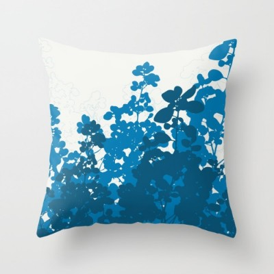 meadow design throw pillow