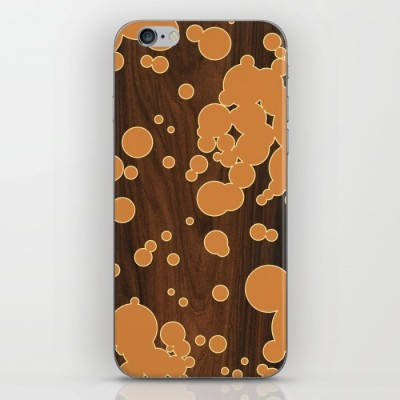 orange fizzy phone skin