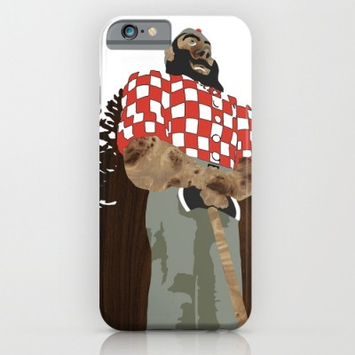 paul bunyan statue phone case