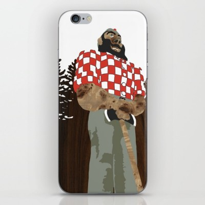 paul bunyan statue phone skin