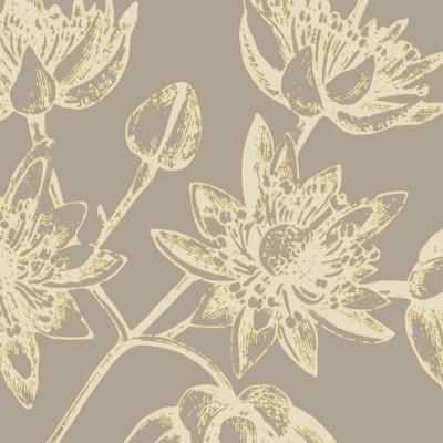 nigella flower botanic Print