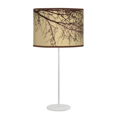 branch tyler table lamp cream