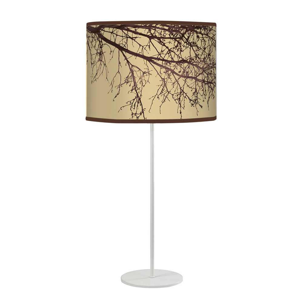 branch pattern printed shade tyler table lamp