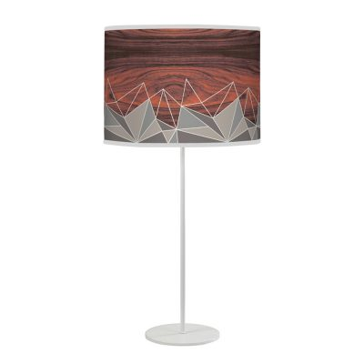 facet tyler table lamp grey