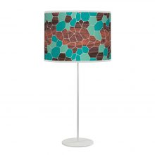 geode tyler table lamp blue
