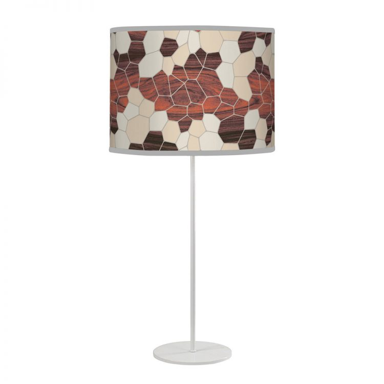geode tyler table lamp cream