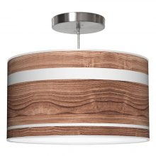 band drum pendant walnut
