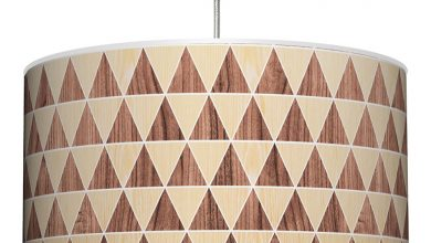 geometric printed lamp collection for 2016