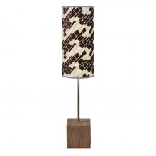 cell cuboid table lamp cream