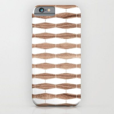 weave walnut phone case