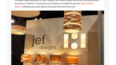 jefdesigns featured in homedit for icff 2017