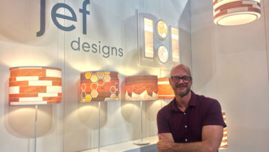 our inspiring lighting debut at ICFF