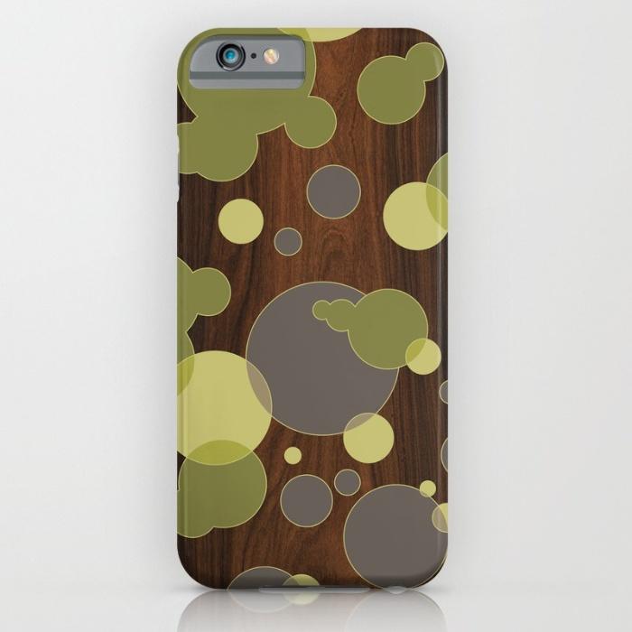 circular intersect pattern designer phone case