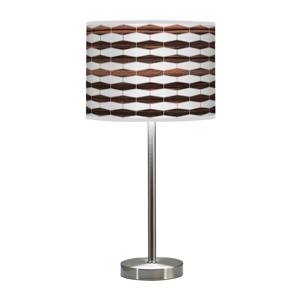 weave 3 hudson table lamp ebony