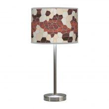 geode pattern printed shade hudson table lamp
