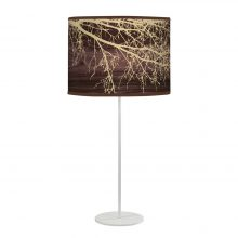 branch tyler table lamp brown