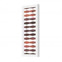 weave 3 plank wall sconce rosewood