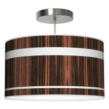 band drum pendant ebony