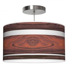 band drum pendant rosewood