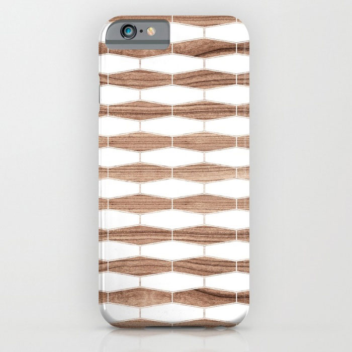 weaves walnut patterns designer phone case