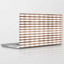 weave walnut laptop and ipad skin