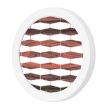 weave 3 patterns printed led port wall sconce