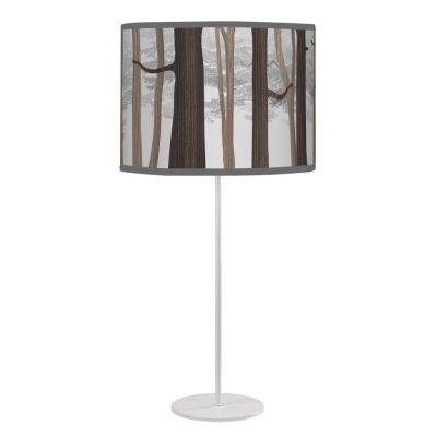 forest printed shade tyler table lamp black
