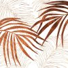 palm wood wall Art Print