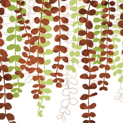vine green wall Art Print